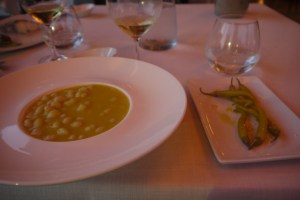 And to top it off, (bland) bean soup