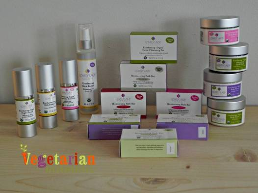 Lovely Lady Products Review vegetarianmamma.com