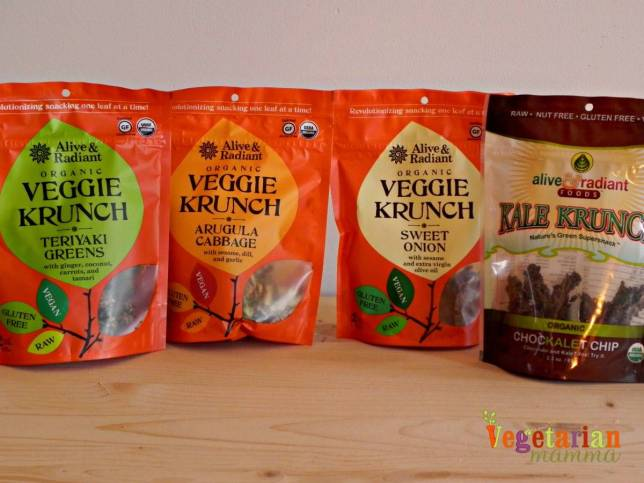 Alive and Radiant Products vegetarianmamma.com