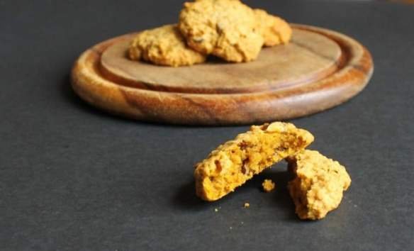 Pumpkin Hazelnut Biscuits