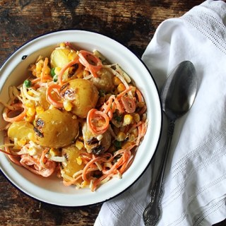 Brazilian Gaucho Potato Salad | Veggie Desserts Blog