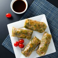 Teriyaki Veggie Spring Rolls - GF and V
