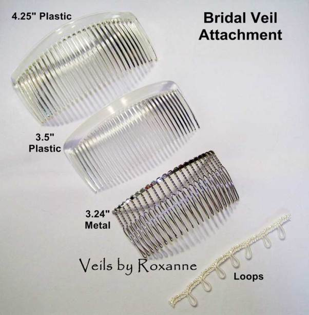 Veil combs and loops