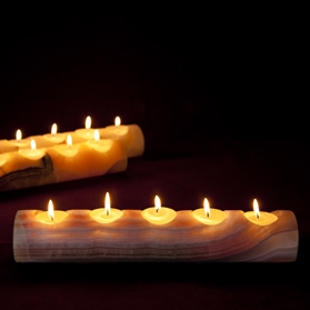 Onyx Tea light Candle Holder