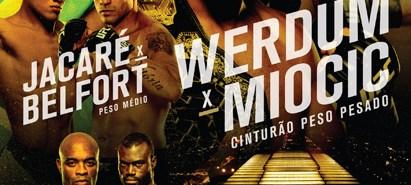 Combate transmite ao vivo, nesta quarta, coletiva de imprensa do UFC 198 com Belfort, Spider e Werdum