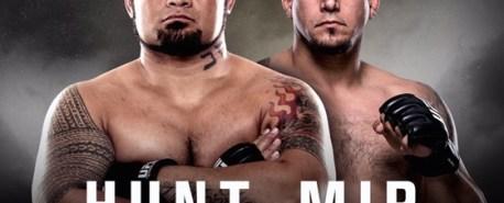 Hunt e Mir se enfrentam neste sábado com transmissão ao vivo do Combate