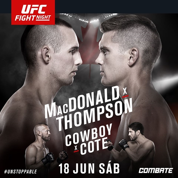 UFC MacDonald x Thompson