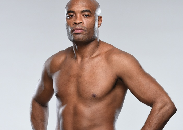 LONDON, ENGLAND - FEBRUARY 24: Anderson Silva of Brazil poses for a portrait during a UFC photo session on February 24, 2016 in London, United Kingdom. (Photo by Mike Roach/Zuffa LLC/Zuffa LLC via Getty Images)