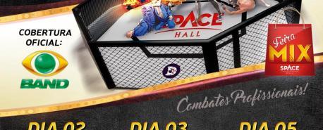 Feira Mix promove K-One Super Fight no Space Hall de São Pedro da Aldeia