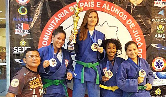 Judô - Layse de Moraes é ouro - divulgação 1