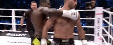 Faltou Fair Play durante uma luta de Kickboxer