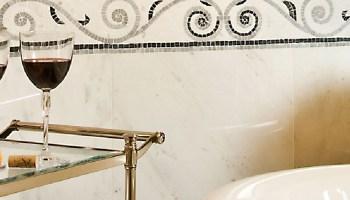 bathroom wallpaper borders 2017 - grasscloth wallpaper