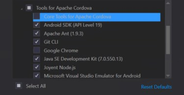 Visual Studio 2015 CTP 6 installs Google Chrome