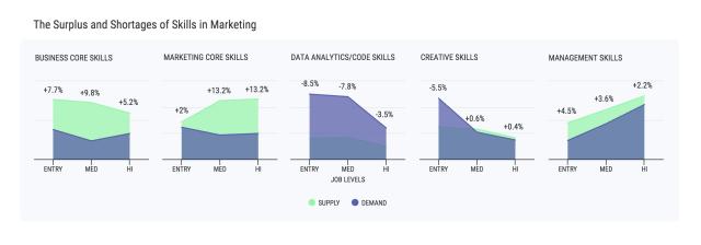 Infographics: Marketing Skills 2016