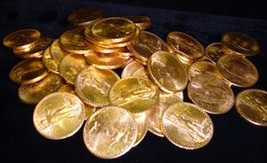 social gold pile