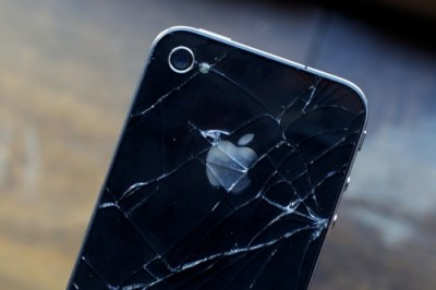 Cracked iPhone 4