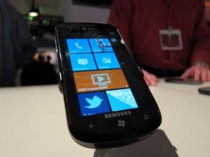 Samsung's Focus Windows Phone 7 device