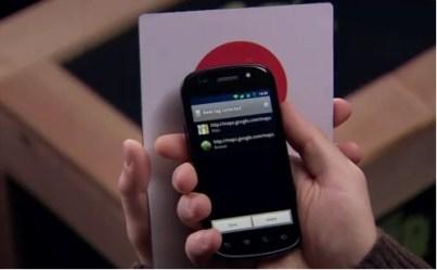 Samsung Nexus S NFC