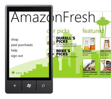 AmazonFresh Windows Phone