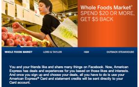 amex-facebook deals