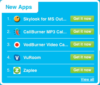 New Skype Apps