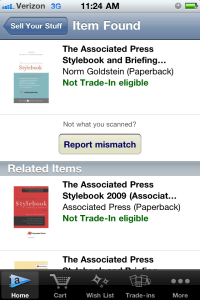 Amazon Student trade in