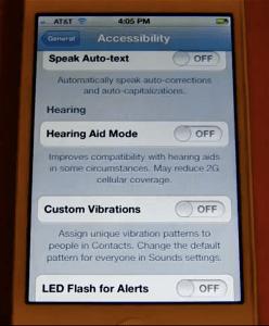iOS 5 Hearing Aid