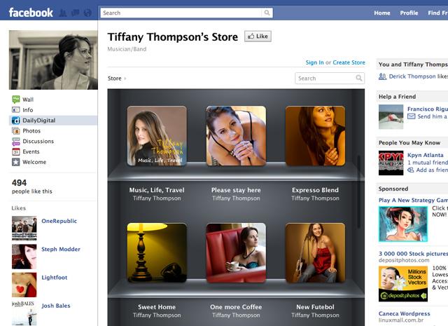DailyDigital Facebook Storefront