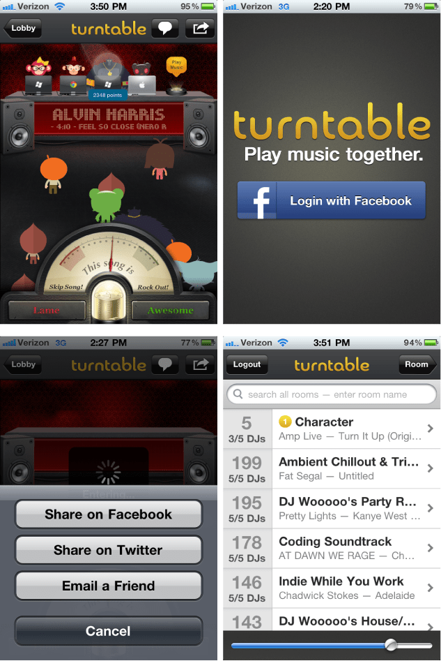 Turntable.fm for iOS