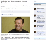 Facebook news app