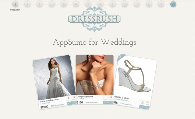 DressRush Pitch Deck