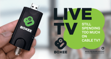 Boxee Box Live TV stick