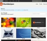 StumbleUpon screenshot