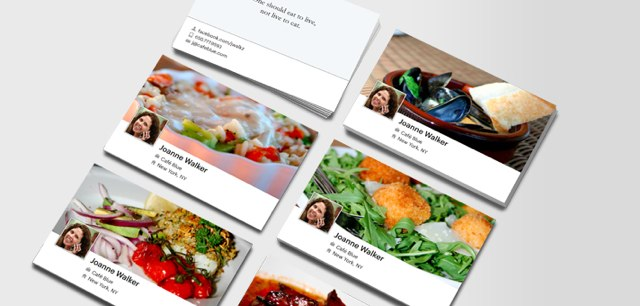 Facebook Cards from MOO