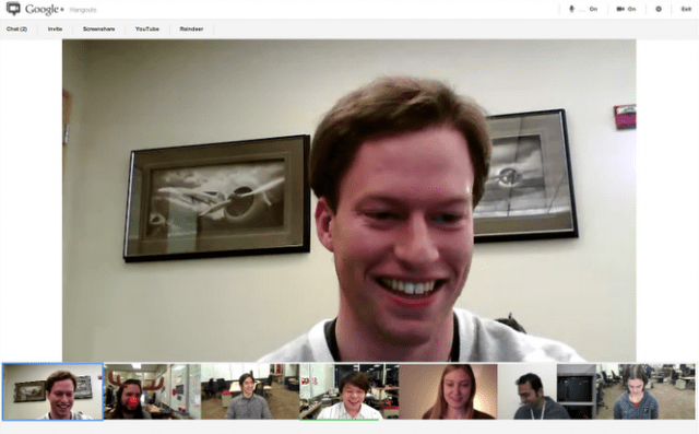 Google+ Hangouts Video