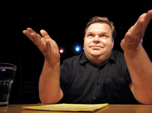Mike Daisey, monologist and Apple critic