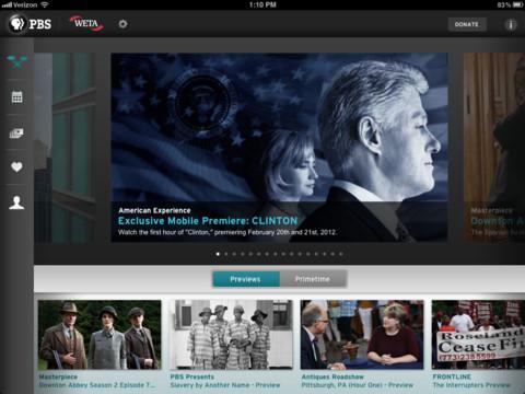 PBS iOS app