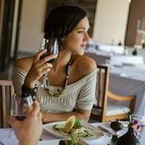 women at restaurant