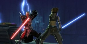 Sith Jedi Lightsaber Duel Star Wars The Old Republic