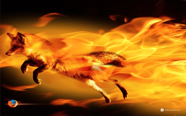 Firefox browser art