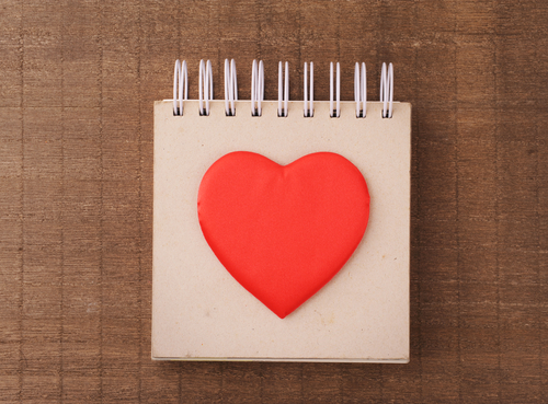 heart notebook