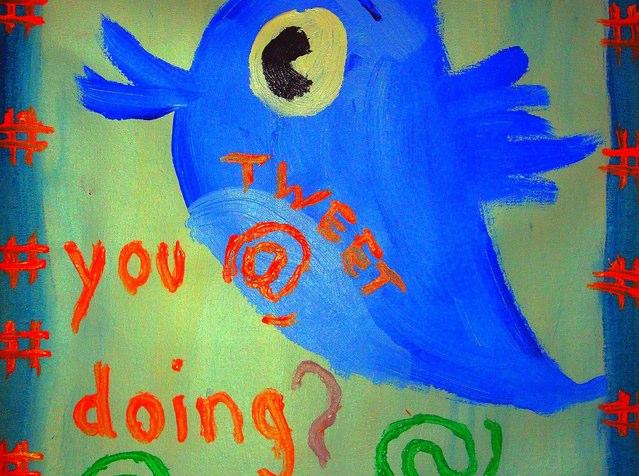 tweet @