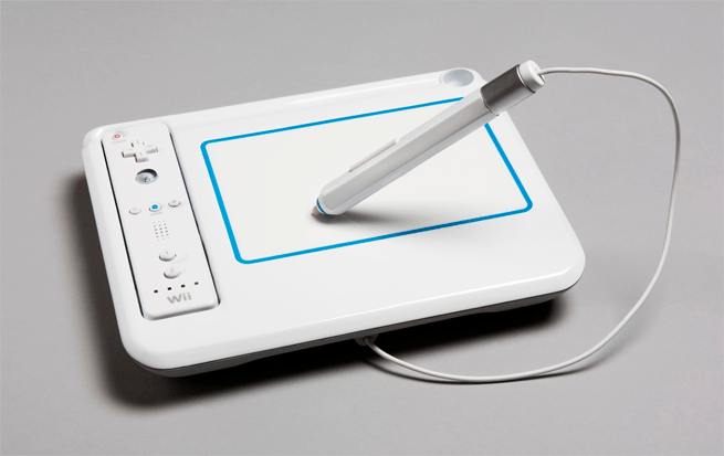 The uDraw tablet peripheral for Nintendo Wii