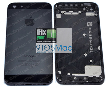 9to5Mac iPhone 5 leaked rear case