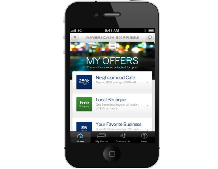 AmEx local offers