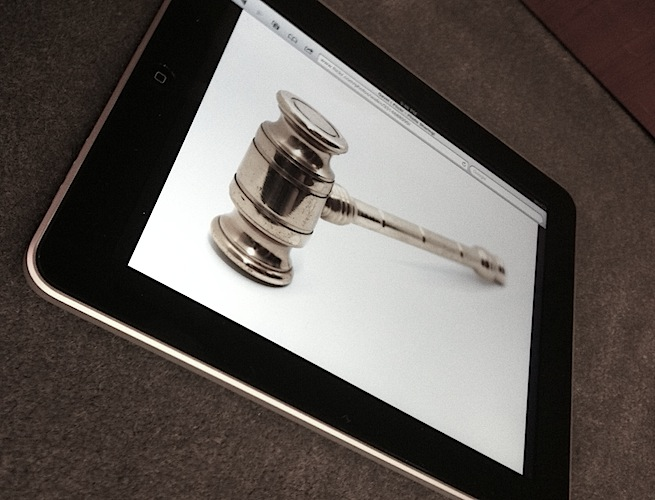 Apple ipad judge