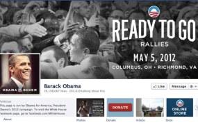 Obama Facebook Page