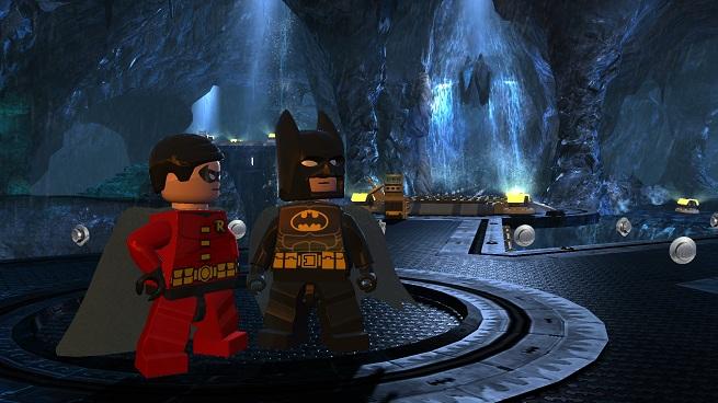 Lego Robin and Batman