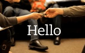 Evernote Hello hands