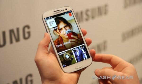 Flipboard Android on Galaxy S III